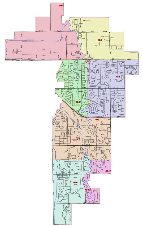 West Fargo Fire Department Planning Zones