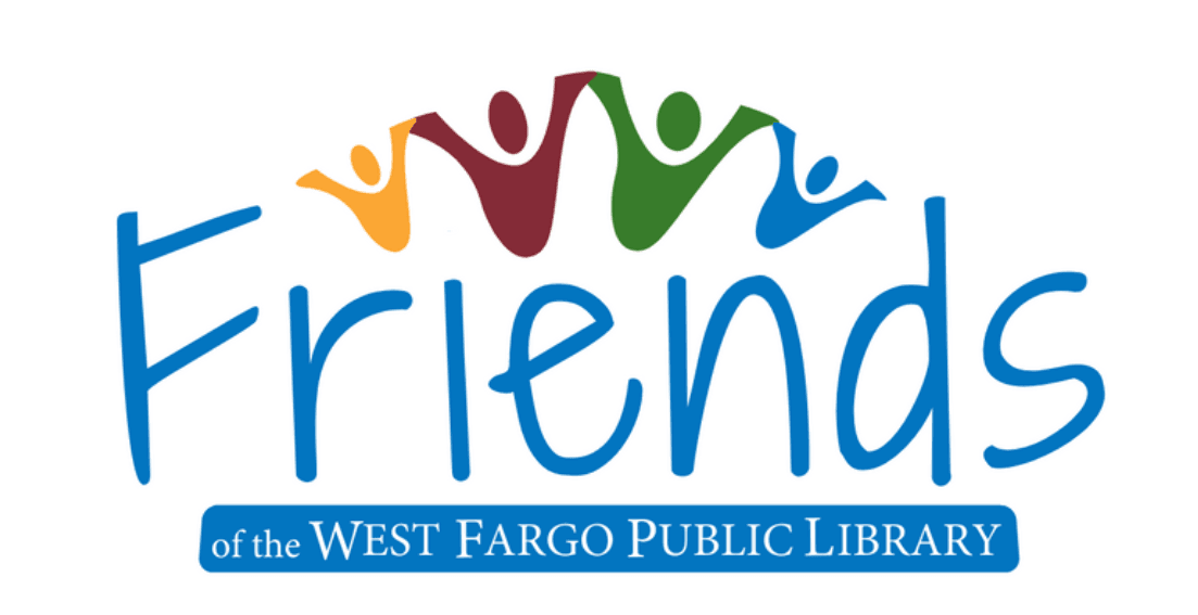 Friends of the West Fargo Public Library logo